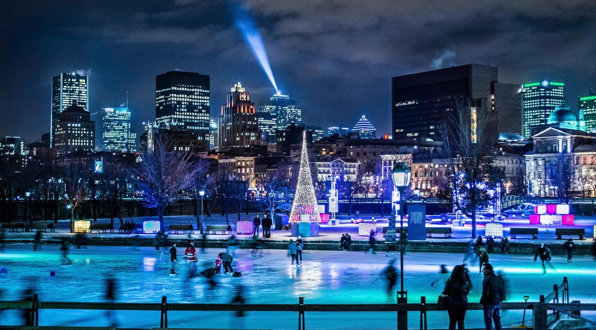 Old Montreal Skating